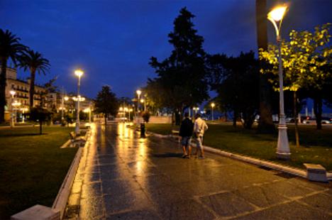 Alumbrado público de Santander