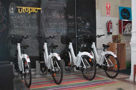 Estación de Bike-In Sharing de Geofoton Soluciones Sostenibles en utopin_US