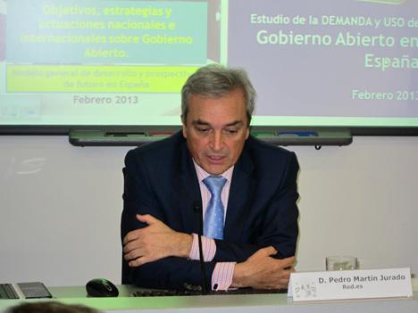 Pedro Martín, Director del Observatorio Nacional de Telecomunicaciones y Sociedad de la Información.