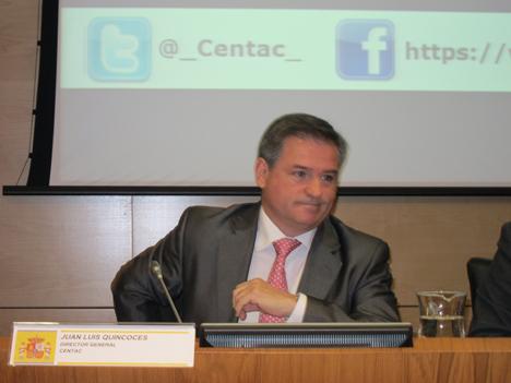 Juan Luis Quincoces, Director General de Centac.