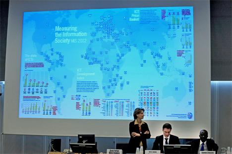 Presentación del Informe Medición de la sociedad de la Información