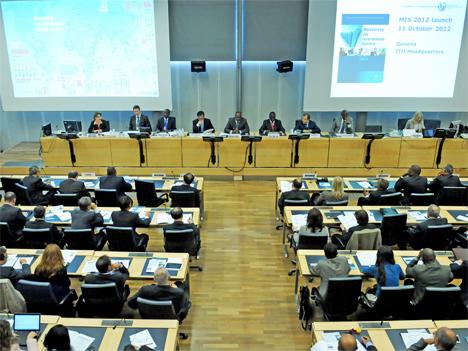 Presentación del Informe: Measuring the Information Society 2012