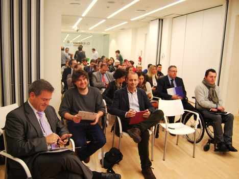 Asistentes al evento Accesbilidad y Smart City