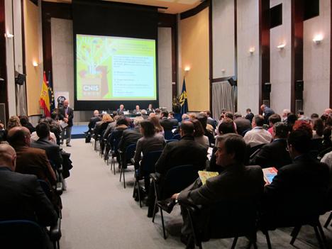 Debate en el CNIS, en el Auditorio principal de la Fabrica Nacional de Moneda y Timbre.