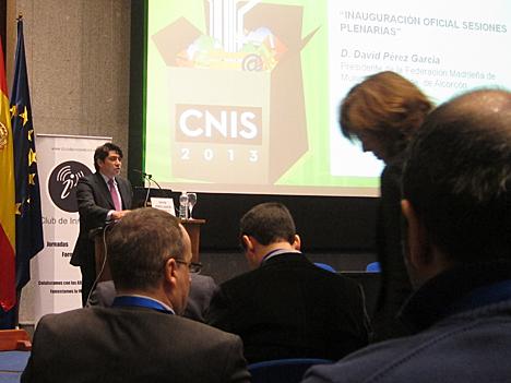 David Pérez, Presidente de la Federación Madrileña de Municipios y Alcalde de Alcorcón