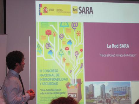 Jorge Fabeiro Sanz, Jefe de Servicio, responsable de la Red SARA.