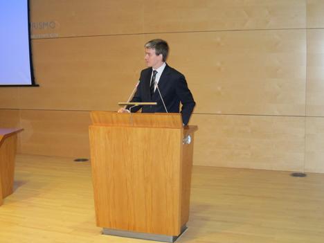 Juan Corro, Presidente del Comité Técnico de Normalización sobre Ciudades Inteligentes