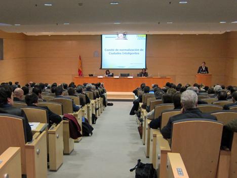 Segunda reunión del Comité Técnico de Normalización sobre Ciudades Inteligentes.