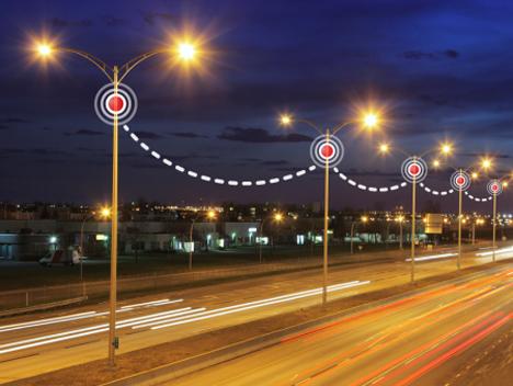 Sensores para control inteligente de la iluminación de Libelium.