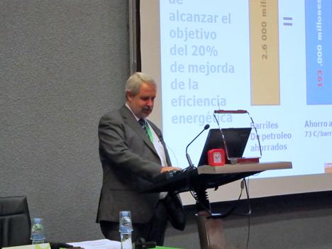 Ferrán Tarradellas, representante de la Comisión Europea