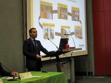 Santiago Pérez, Director de Post-venta de Jungheinrich en España