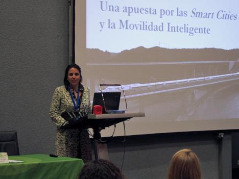 Cristina Rey, Gerente Técnico de la subdirección de Economía y Planificación de INECO