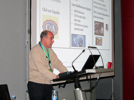 Jose Manuel Mira, Responsable de energía en Telefónica España