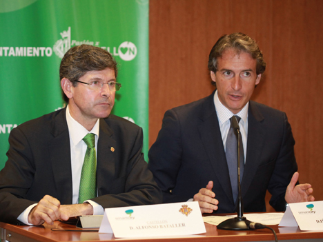 Alfonso Bataller, Alcalde de Castellón, e Íñigo de la Serna, Alcalde de Santander y Presidente de la RECI
