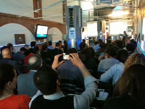 Jornada Big Data de la Catedral de Innovación en Madrid.