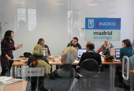 Área de tecnología del Ayuntmiento de Madrid.