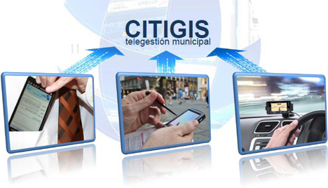 Aplicación para la sala de control de Citigis