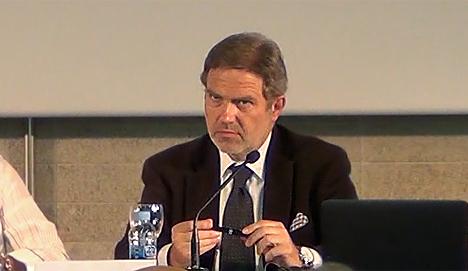 José Antonio Granero, Decano del Colegio Oficial de Arquitectos de Madrid (COAM)