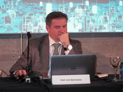 Juan Luis Quincoces, Director General de CENTAC