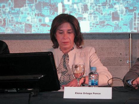 Elena Ortega, del Ayuntamiento de Madrid