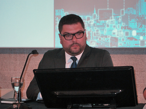 Arturo Ortigosa, del Ayuntamiento de Valencia.