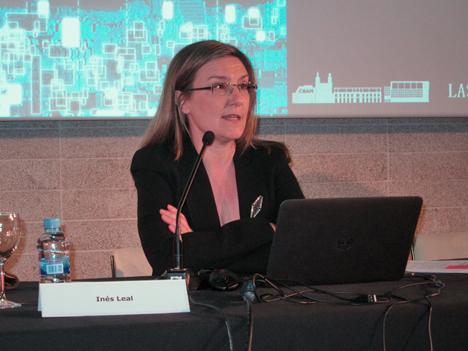 Inés Leal, Vocal de la Junta de Gobierno del COAM
