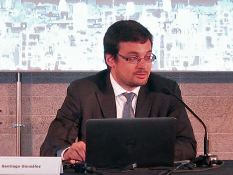 Santiago González del IDAE.