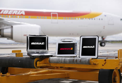 Dispositivos de Panasonic para Iberia.
