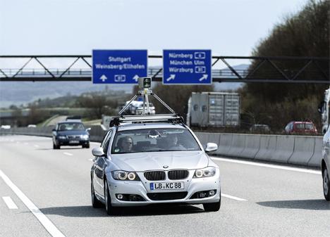 Bosh realiza pruebas de conducción automática