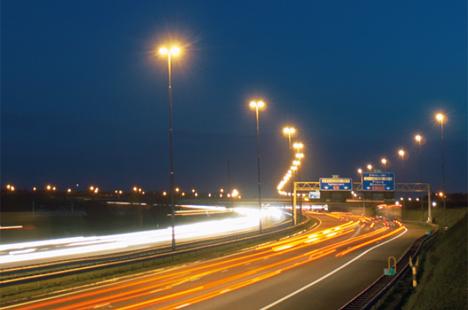 Luminaria para vías públicas con control remoto de Philips