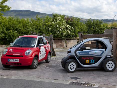 Servicio de Car Sharing Navarra en Pamplona