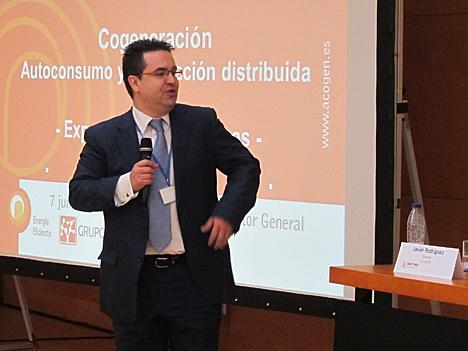 Javier Rodríguez, Director de la Asociación Española de Cogeneración (ACOGEN)