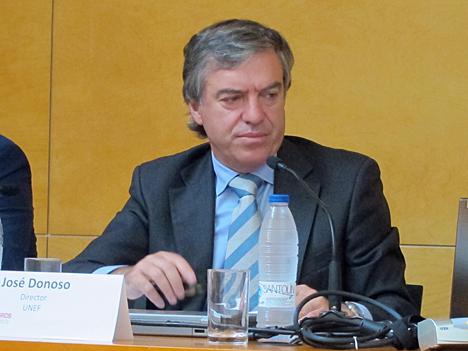 José Donoso, Director General de la Unión Fotovoltaica Española