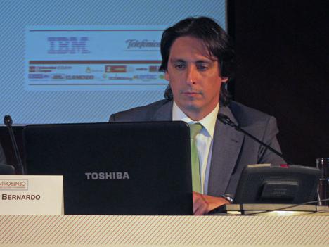 Enrique Diego, Subdirector de Tecnología y Sistemas de Información de la EMT de Madrid.