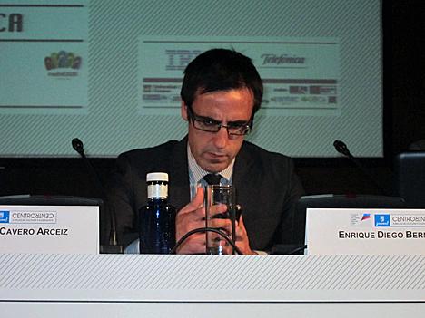Ricardo Cavero, Director General de Ciencia y Tecnología del Ayuntamiento de Zaragoza