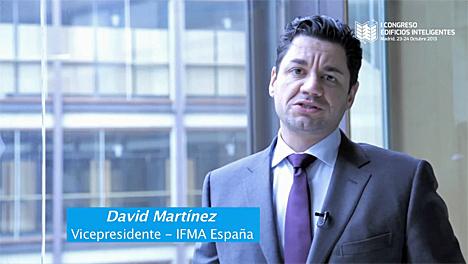 David Martínez, vicepresidente de la Asociación Española de Facility Managers (IFMA, España)