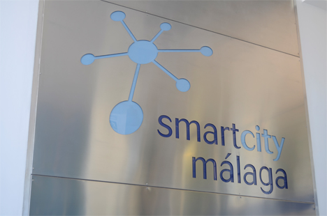 Cartel de Smart City Málaga