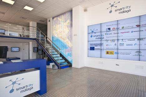 Centro de Control del proyecto Málga  Smartcity.