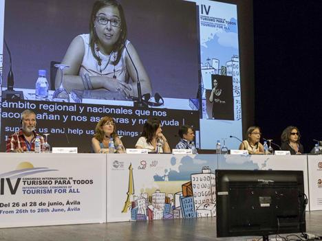Ponentes en el IV Congreso Internacional sobre Turismo Accesible para Todos.