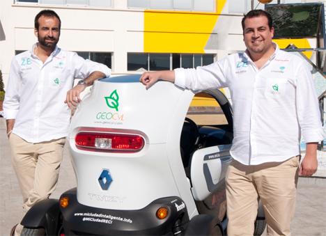 De izquierda a derecha: Pablo Rodríguez y Eduardo Bustillo