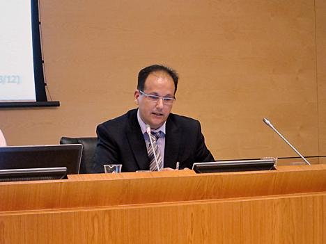 Carlos Ventura, Presidente del Subcomité1, Infraestructuras, del CTN178.