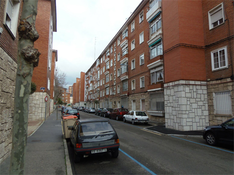 Barrio del 4 de Marzo de Valladolid.