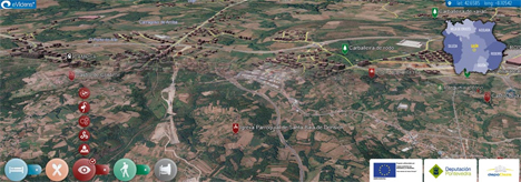 Vista de Ilux de Pontevedra