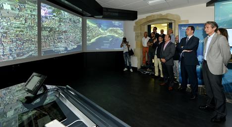 Centro de Demostraciones de Smart Cities de Telefónica en Santander.
