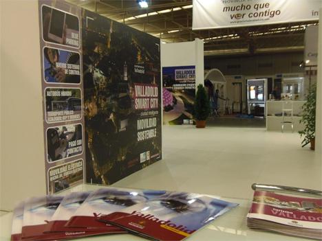 Stand de Valladolid en la Feria Internacional de Muestras