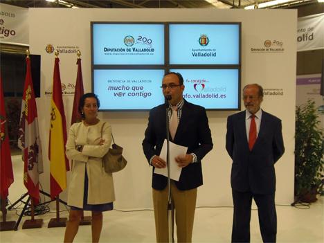 Presentación de Valladolid en la Feria Internacional de Muestras.