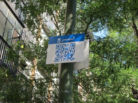 Código QR para navegar con Gowex WiFi Gratis.