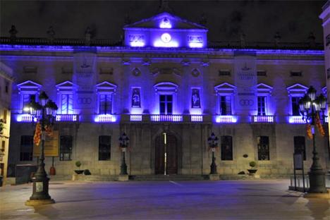 Iluminación del Ayuntamiento de Tarragona