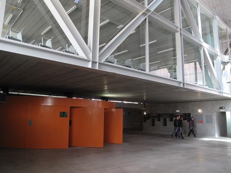 Entrada al edificio Embarcadero