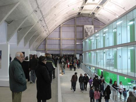 Interior del edificio embarcadero
